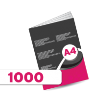 1000 A4 Booklet