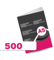 500 A5 Booklet