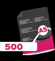 500 A5 Leaflets