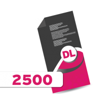 2,500 DL Leaflets