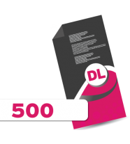 500 DL Leaflets