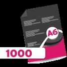 1000 A6 Leaflets