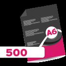 500 A6 Leaflets