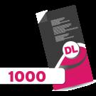 1,000 DL Leaflets