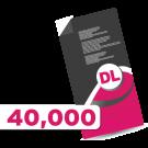 40,000 DL Leaflets