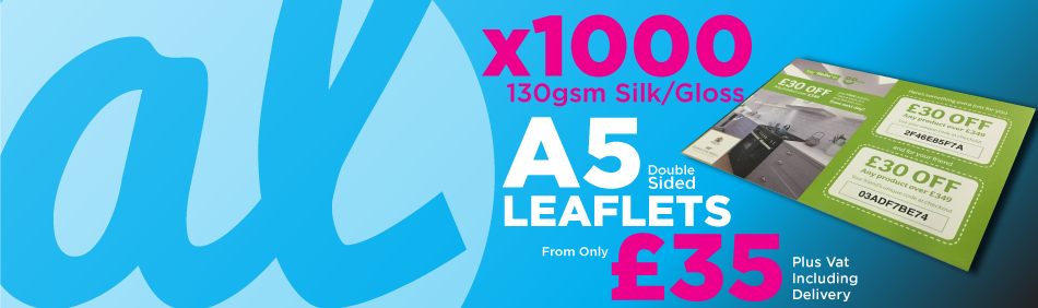 x1000 A5 Leaflets