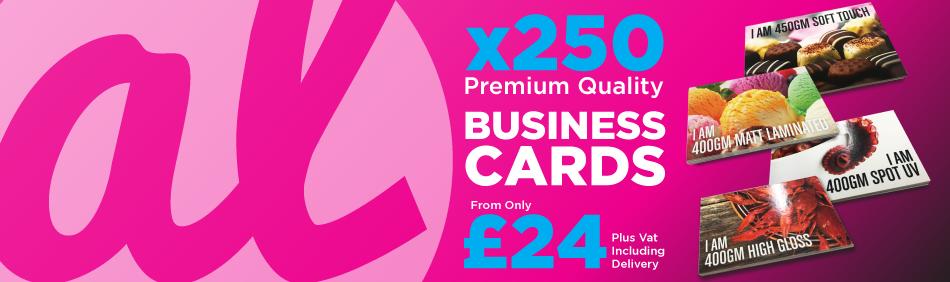 Business Cards, Matt Lamination, Soft Touch, High Gloss, Spot UV