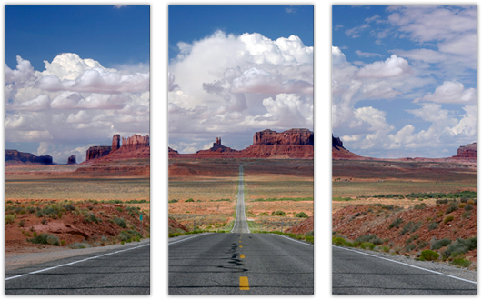 Monument Valley: 3 Panel