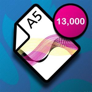 13,000 A5 Leaflets