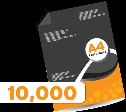10,000 Letterheads
