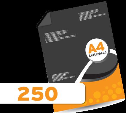 250 Letterheads