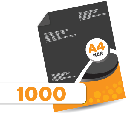 1000 A4 NCR's