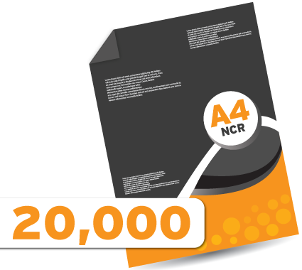 20000 A4 NCR's