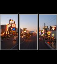 Las Vegas Strip: 3 Panel