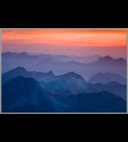 Mountain Sunset: Landscape