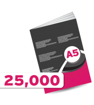 25,000 A5 Booklet