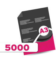 5,000 A3 Leaflets