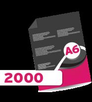 2000 A6 Leaflets