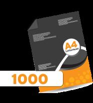 1000 Letterheads