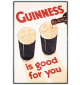 Guinness is good for you: Portrait